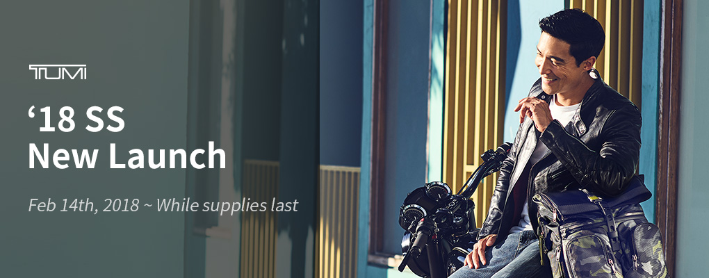 TUMI NEW LAUNCH PROMOTION