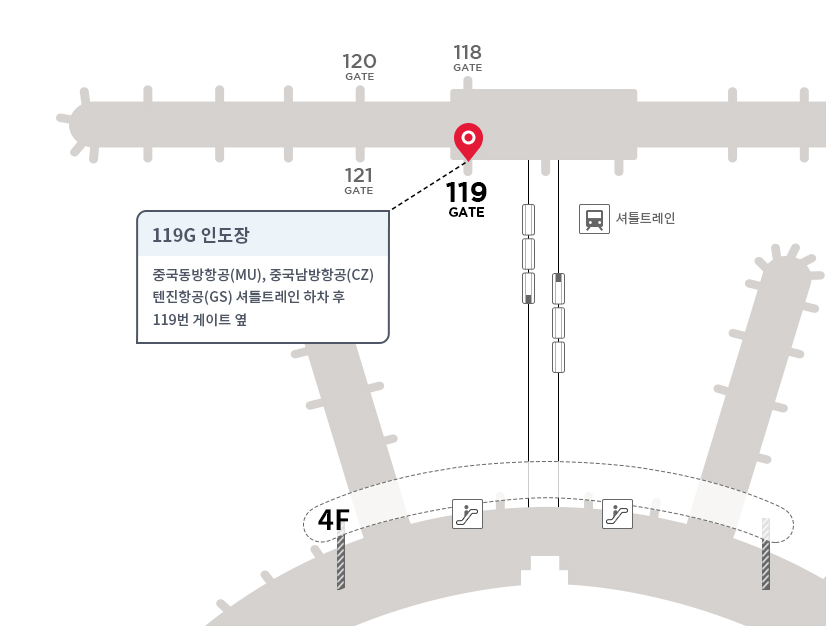 인천공항 119G 인도장