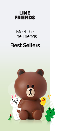 LINE FRIENDS Meet the Best Sellers