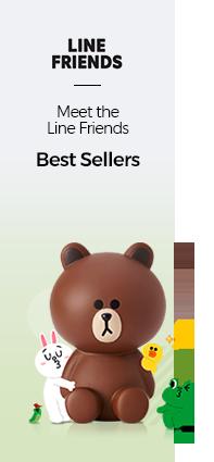 LINE FRIENDS Meet the Best Sellers