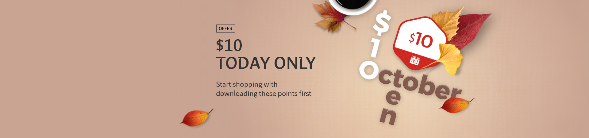 10/8 Today Only! $10 Reward points