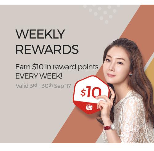Weekly Rewards