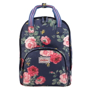 MULTI POCKET BACKPACK ANTIQUE ROSE NAVY