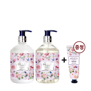 BODY 2 PIECES(SHOWER+LOTION) LOVELY ROSE+HAND CREAM GIFT