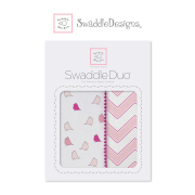DUO SET COTTON and MARQUISETTE SWADDLE