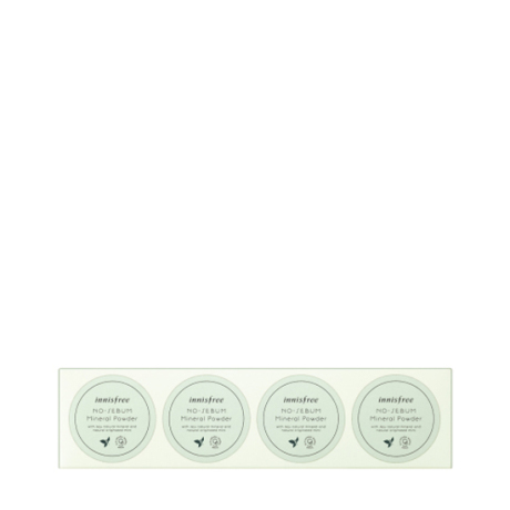 DUTY FREE NO SEBUM MINERAL POWDER PROMOTION SET 5g 4ea