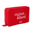 MAISON KITSUNE POUCH RED【ポーチ】