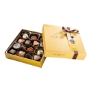Gold Rigid Ballotin 高迪瓦花式巧克力礼盒14 颗装
