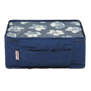 PACKING CUBE SMALL SCATTERED ANEMONE NAVY    收纳包