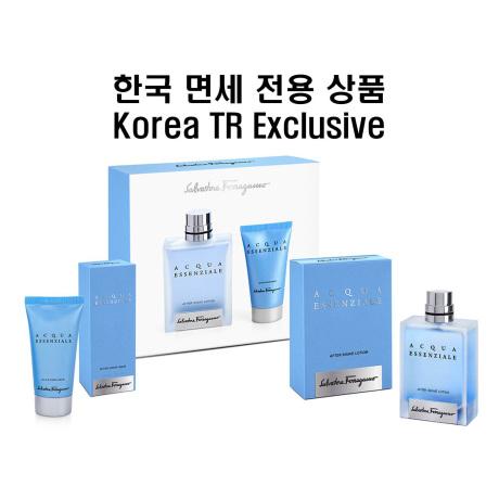 Acqua Essenziale A S Lotion 100ml A S Balm 50ml Set Korea TR Exclusive 한국 면세 전용 상품