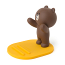 FIGURE MOBILE PHONE STAND BROWN