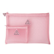 PINK RUMOUR MESH POUCH PINK RUMOUR【ポーチ】