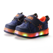 EASY BABY LED RUNNING SHOES NAVY 130