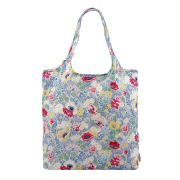 FOLDAWAY SHOPPING BAG WINFIELD FLOWERS CORNFLOWER