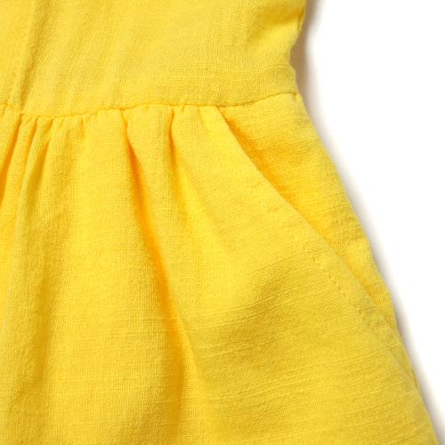 [BLUEDOG] WOVEN SLEEVELESS DRESS 儿童连衣裙
