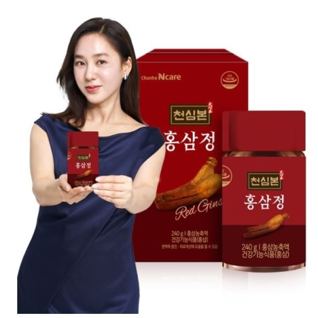 KOREAN RED GINSENG EXTRACT 6-YEAR OLD RED GINSENG CONCENTRATE 100% 240g