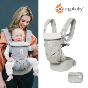 ERGOBABY COTTON CARRIER OMNI 360 PEARL GRAY