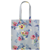 BOOK BAG COTTON PAINTED POSY 书包 COOL BLUE
