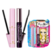LONG AND CURL MASCARA SUPER WATER PROOF  MASCARA REMOVER 彩妆套装