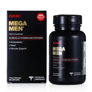 NEW MEGA MEN MENS MULTI VITAMIN WITH SMALLER SIZE FATIGUE RECOVERY 90 CAPSULES