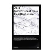 ABIB GUMMY SHEET MASK HEARTLEAF STICKER 10ea+10ea