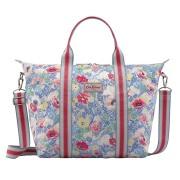 FOLDAWAY SHOPPER BAG WINFIELD FLOWERS CORNFLOWER