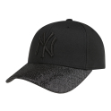 GLITTER VISOR ADJUSTABLE TYPE CAP NEW YORK YANKEES   帽子