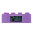 LEGO FRIENDS BRICK CLOCK PURPLE